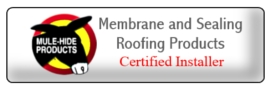 certified roofer by mule hide