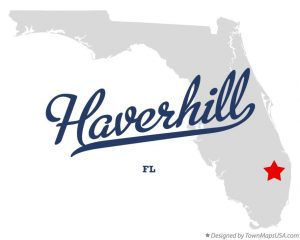 map of haverhill, fl